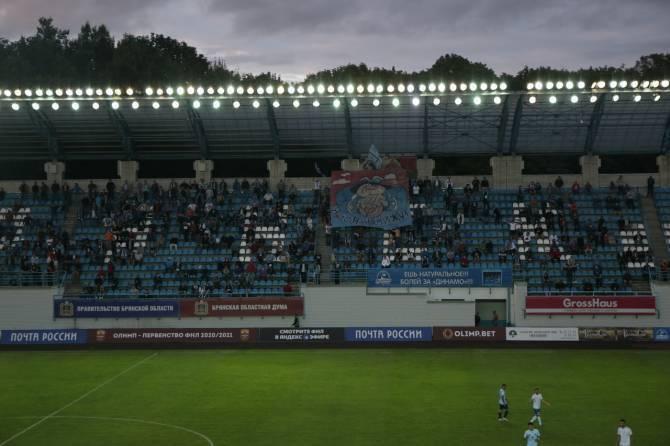 Стартовала продажа электронных билетов на домашний матч брянского «Динамо»