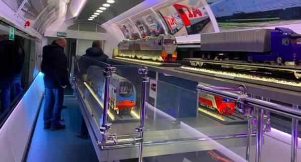 В Брянскую область приехал уникальный поезд-музей