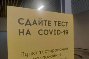 На Брянщине предложили отпускникам сдавать ПЦР-тесты