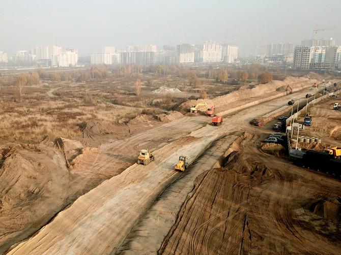 В Брянске стартовало строительство дороги по улице Советской