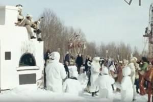Опубликована кинохроника празднования Масленицы в Брянске в 1978 году