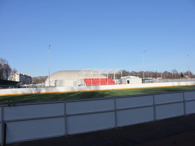 В Стародубе 26 ноября маленькие футболисты опробуют поле нового ФОКа