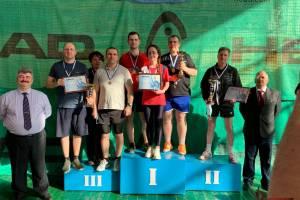 Брянские росгвардейцы стали призёрами областного чемпионата по настольному теннису