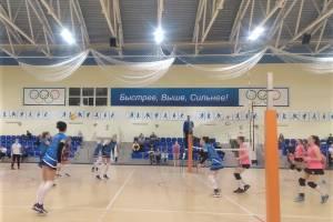 Брянские волейболистки обыграли самарский клуб «Искра»