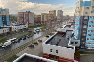 В Брянске перекрытие Объездной обернулось гигантской пробкой на Советской