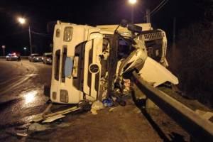 В страшном ДТП под Карачевом водитель грузовика сломал рёбра