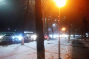 В Брянске улицу Дуки сковала вечерняя пробка