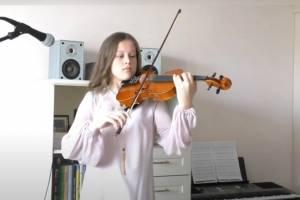 В Брянске школьники устроили онлайн-концерт в честь Дня Победы