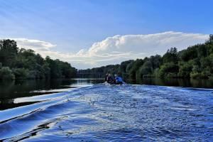 Не подумаешь о городе: блогер взглянул на Брянск из лодки