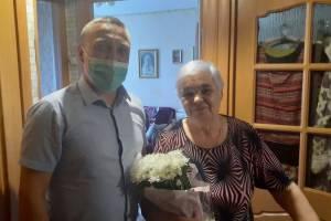 В Брянске отметила 80-летие мать погибшего в Афганистане воина Мария Пасечкина