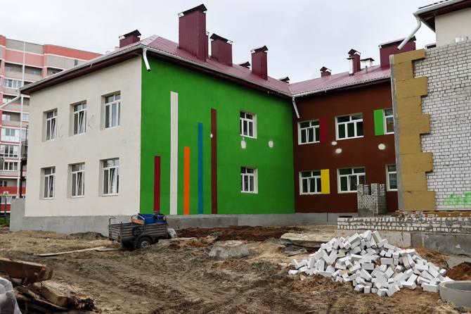 В Брянске новый детсад на улице Строкина примет 270 дошколят