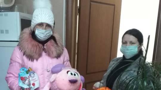 В Клинцах прошла благотворительная акция: помогли 38 семьям