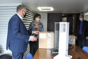 В Жуковском доме-интернате установили бактерицидные рециркуляторы воздуха