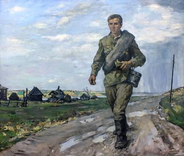 В Брянске пройдет выставка картин «Войной испепелённые года»