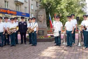 В Брянске почтили память разведчика Дмитрия Медведева