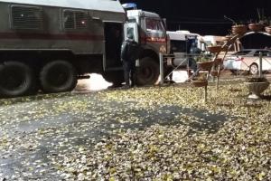 Росгвардия на автозаках перекрыла выезды из Брянска