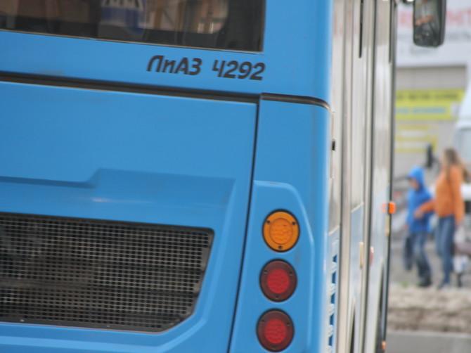 Автобусы начинают ходить в беспорядочном ритме