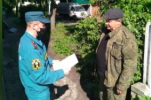 Жителям Почепского района напомнили о пожарной безопасности