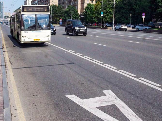 В Брянске могут появиться выделенные полосы для автобусов