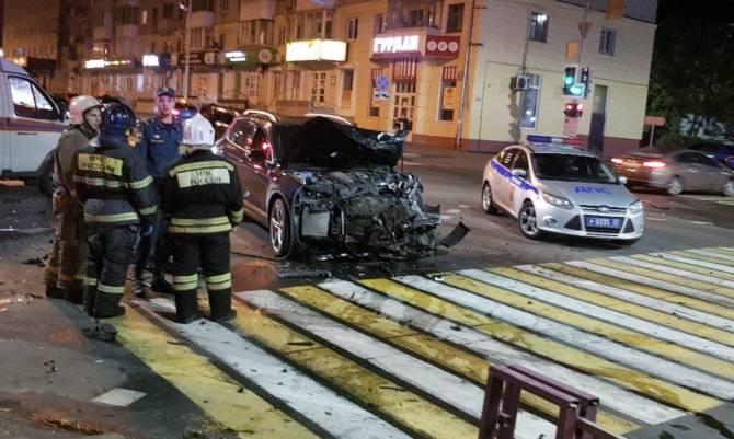 Сына крупного брянского чиновника заподозрили в пьяном ДТП