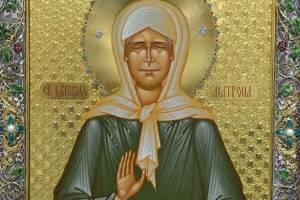 В Карачевский мужской монастырь доставили ковчег с мощами Матроны Московской
