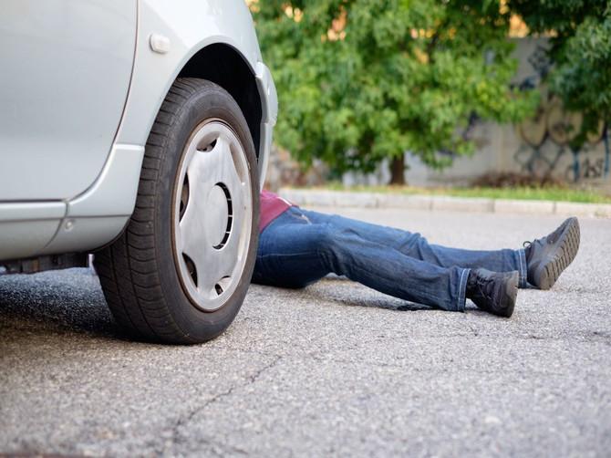 В Брянске водитель Nissan сбил пьяного пешехода