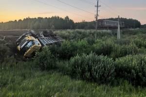 Выжившему после ДТП с поездом под Брянском водителю не потребовалась госпитализация
