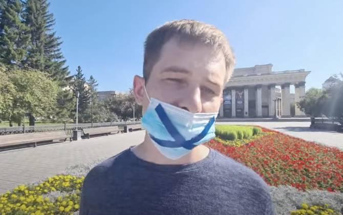 В Новосибирске журналист вышел на пикет против закона об «иноагентах»