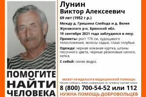 В Жуковском районе ищут заблудившегося в лесу 69-летнего Виктора Лунина