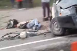 В страшной аварии в Дятьковском районе погиб человек