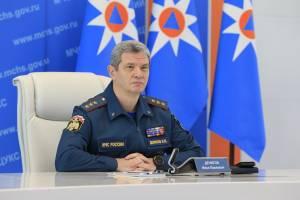 В Брянск приехал заместитель министра МЧС