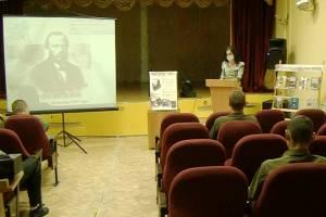 Брянским заключенным рассказали о творчестве Достоевского