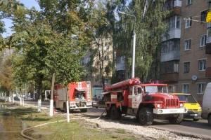 В Брянске на Володарке произошел пожар в школе №46