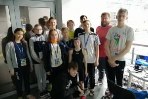 Брянские пловцы отличились на всероссийских соревнованиях «Веселый дельфин»