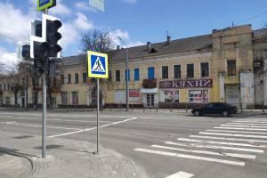 В Брянске на пересечении улиц Калинина и Фокина погасли светофоры
