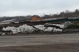 Брянский поселок Толмачево утонул в опасных отходах