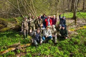 В заповеднике «Брянский лес» состоялась творческая встреча фотографов