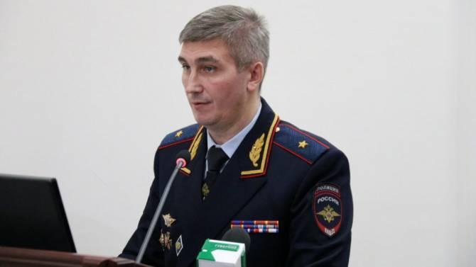 День рождения отмечает начальник брянской полиции Толкунов