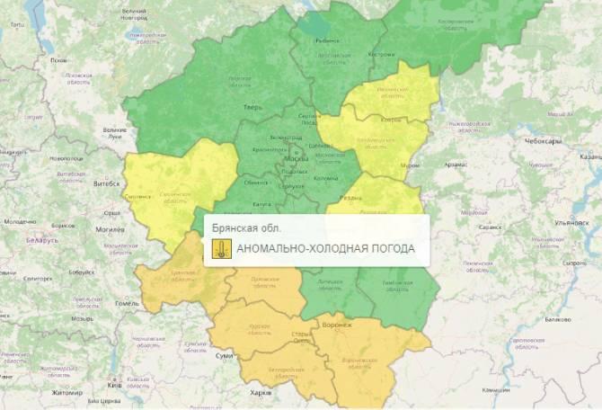 В Брянской области повторно продлили оранжевый уровень опасности