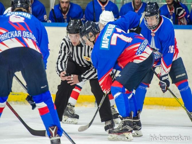 Брянские хоккеисты на выезде разгромили «ГУОР Карелия»