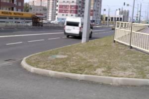 В Брянске по новой дороге на Советской начала ездить маршрутка №34-1