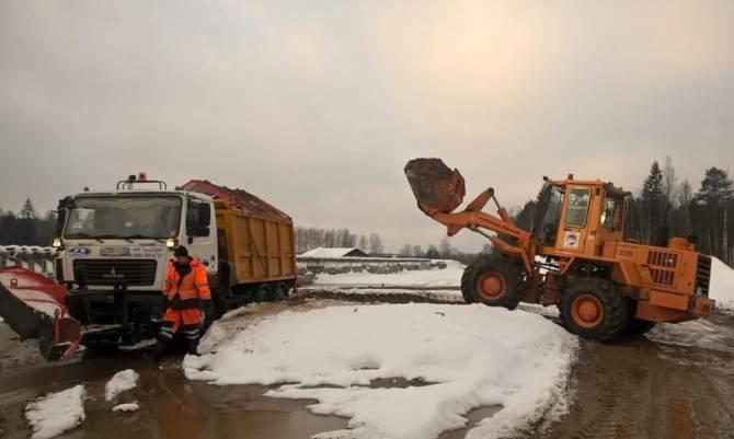 В Брянской области сформировали 77 патрулей для очистки дорог