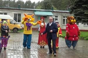 В Жуковском туберкулезном санатории детям устроили праздник