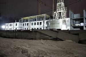 В Брянске начали строить 4-й этаж нового здания УМВД