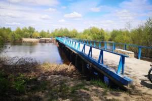 В Сельцо вместо ремонта старого моста решили построить новый