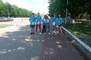 В Брянском парке у Кургана Бессмертия прошёл забег «Ориентация – спорт!»