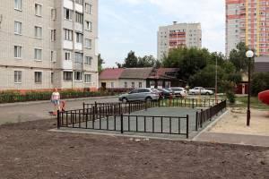 В Брянске двор по улице Металлистов отремонтировали почти за 13 млн рублей