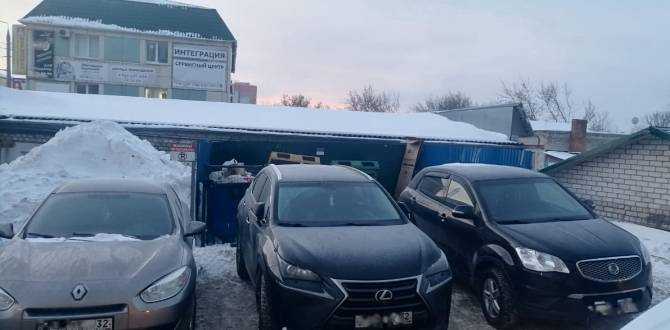 В Брянске на улице Фокина автохамы заблокировали подъезд к контейнерной площадке