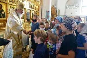 Брянские первоклассники помолились перед учебным годом