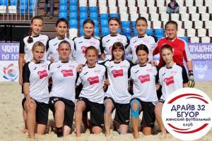 Брянские драйвовые девушки сыграют на чемпионате России по пляжному футболу